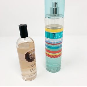 The Body Shop Shea Body Mist & Bath & Body Works